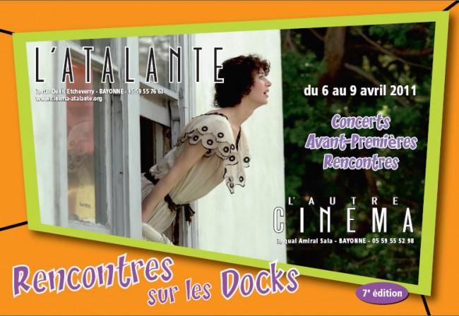 atalante, autre cinema, bayonne, rencontres sur les docks, pays basque, euskal herria