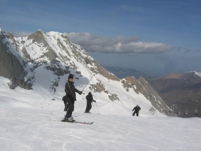 bascobaroudeurs, gourette, ski, triathlon, pyrenea