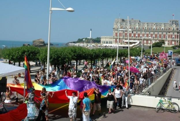 gay pride, lesbian gay pride, marche des fiertés, basco-sphère, biarritz, pays basque