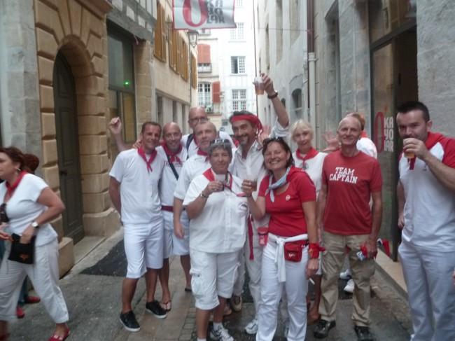 basco-sphère, bascobaroudeurs, fêtes bayonne
