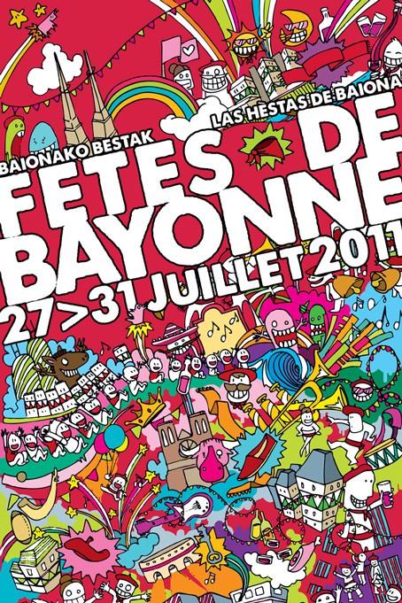bayonne, fêtes, pays basque, bascosphere