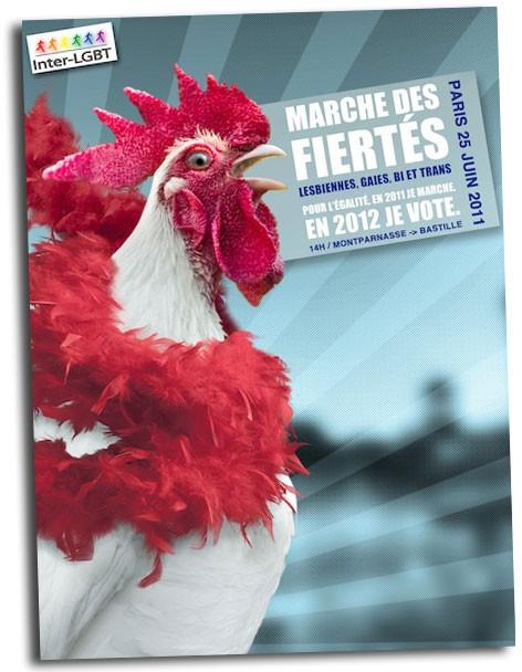 affiche, marche des fiertés,paris, inter-lgbt