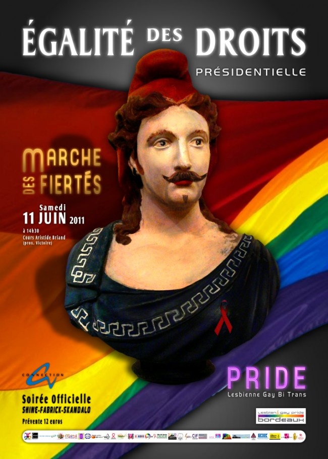lgp, bordeaux, lesbian gay pride, marche des fiertés