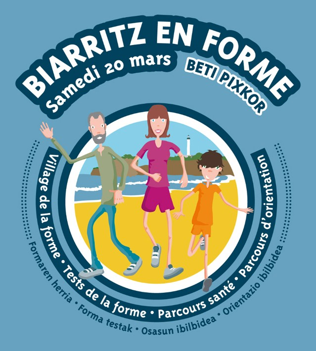 biarritz, grande plage, pays basque, euskal herria