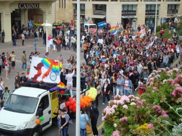 marche des fiertés,gay pride,biarritz